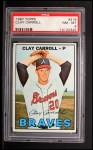 1967 Topps #219  Clay Carroll  Front Thumbnail