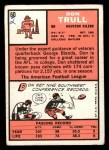 1966 Topps #60   Don Trull Back Thumbnail