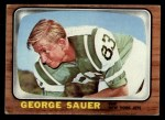 1966 Topps #101   George Sauer Front Thumbnail