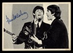 1964 Topps Beatles Black and White #69   Paul Mccartney Front Thumbnail
