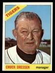 1966 Topps #187   Chuck Dressen Front Thumbnail