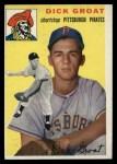 1954 Topps #43   Dick Groat Front Thumbnail