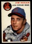 1954 Topps #29   Jim Hegan Front Thumbnail