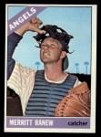 1966 Topps #62 xSLD  Merritt Ranew Front Thumbnail