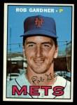 1967 Topps #217  Rob Gardner  Front Thumbnail