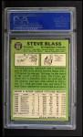 1967 Topps #562   Steve Blass Back Thumbnail