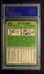 1967 #591  Ty Cline  Back Thumbnail
