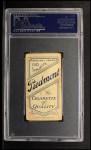 1909 T206 #84 PNK Hal Chase  Back Thumbnail