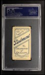 1909 T206 #134  Jiggs Donahue / Misspelled as Donohue  Back Thumbnail