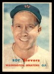 1957 Topps #89   Roy Sievers Front Thumbnail