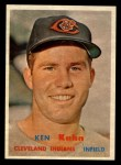 1957 Topps #266   Ken Kuhn Front Thumbnail