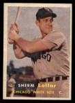 1957 Topps #23   Sherm Lollar Front Thumbnail
