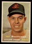 1957 Topps #385  Art Houtteman  Front Thumbnail
