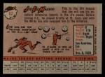 1958 Topps #62   Joe DeMaestri Back Thumbnail