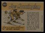 1960 Topps #562  All-Star  -  Joe Cunningham Back Thumbnail