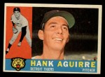 1960 Topps #546  Hank Aguirre  Front Thumbnail