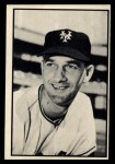 1953 Bowman Black and White #40   Larry Jansen Front Thumbnail