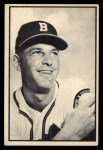 1953 Bowman Black and White #38   Dave Cole Front Thumbnail