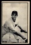 1953 Bowman Black and White #9   Walt Masterson Front Thumbnail