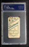 1909 T206 #85 DRK  Hal Chase Back Thumbnail