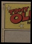 1972 Topps #702  In Action  -  Jose Pagan Back Thumbnail
