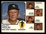 1973 Topps #116 NAT Yankees Field Leaders  -  Ralph Houk / Jim Hegan /  Elston Howard / Dick Howser / Jim Turner Front Thumbnail
