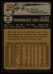 1973 #45  Ellie Rodriguez  Back Thumbnail