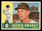 1960 Topps #53  Jackie Brandt  Front Thumbnail