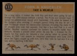 1960 Topps #115  Fork & Knuckler  -  Roy Face / Hoyt Wilhelm Back Thumbnail