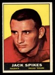 1961 Topps #138  Jack Spikes  Front Thumbnail