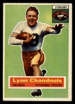 1956 Topps #39   Lynn Chandnois Front Thumbnail