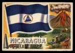 1956 Topps Flags of the World #45  Nicaragua  Front Thumbnail