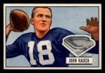1951 Bowman #44  John Rauch  Front Thumbnail