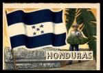 1956 Topps Flags of the World #8  Honduras  Front Thumbnail