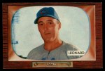 1955 Bowman #247   Dutch Leonard Front Thumbnail