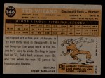 1960 Topps #146   -  Ted Wieand Rookies Back Thumbnail