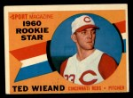1960 Topps #146   -  Ted Wieand Rookies Front Thumbnail