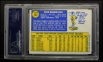 1970 Topps #580   Pete Rose Back Thumbnail