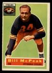 1956 Topps #99  Bill McPeak  Front Thumbnail