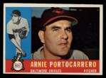 1960 Topps #254   Arnie Portocarrero Front Thumbnail