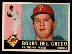 1960 Topps #486  Bobby Del Greco  Front Thumbnail