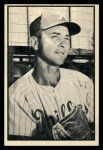 1953 Bowman Black and White #35  John Wyrostek  Front Thumbnail