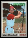1970 Topps #247  Lou Klimchock  Front Thumbnail