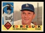 1960 Topps #519   Ed Roebuck Front Thumbnail