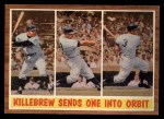 1962 Topps #316  Killebrew Sends One Into Orbit  -  Harmon Killebrew Front Thumbnail