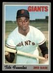 1970 Topps #42   Tito Fuentes Front Thumbnail