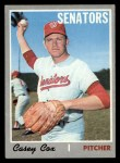1970 Topps #281   Casey Cox Front Thumbnail