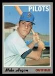 1970 Topps #111  Mike Hegan  Front Thumbnail