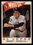 1960 Topps #222  Al Lopez  Front Thumbnail