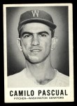 1960 Leaf #4  Camilo Pascual  Front Thumbnail